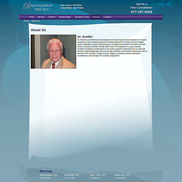 Staff page layout