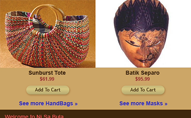 Home page detail of other featured products